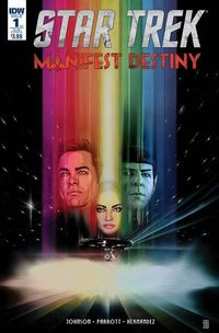 Star Trek Manifest Destiny #1 Subscription Variant at TFAW.com