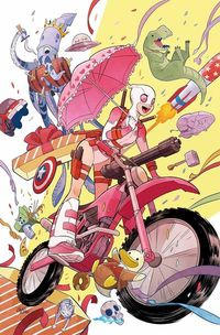 Gwenpool #1 comic book review at TFAW.com