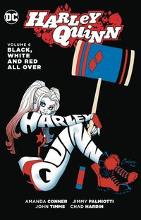 Harley Quinn TPB Vol. 06 Black White & Red All Over