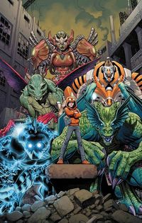 Monsters Unleashed #1 (New Series)