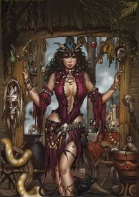 Grimm Fairy Tales Day Of The Dead #4 (of 6) (Cover C - Krome)