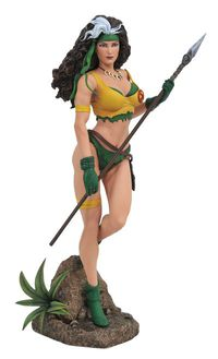 Marvel Gallery Rogue Savage Land Comic PVC Statue