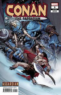 Conan the Barbarian #5 (Guice Asgardian Variant)