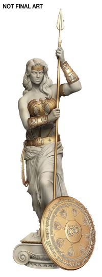 Wonder Woman: Princess of Themyscira Greek Statue