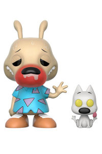 Pop TV: Rocko's Modern Life - Rocko and Spunky Vinyl Figures (Runny Nose Chase Variant)