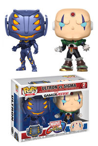 Pop Games Marvel v Capcom Ultron vs Sigma Figure 2-Pack