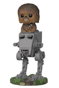 Pop Deluxe Star Wars: Return of the Jedi - Chewbacca in AT-ST Vinyl Figure