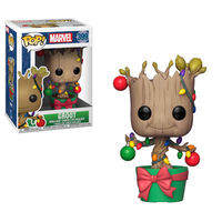 Pop Marvel Holiday - Groot w/Lights & Ornaments
