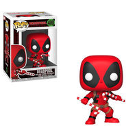 Pop Marvel Holiday - Deadpool w/ Candy Canes