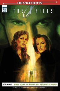 X-Files Deviations comic book review at TFAW.com