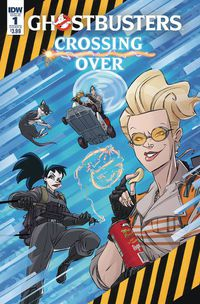Ghostbusters Crossing Over #1 (Cover B - Schoening)