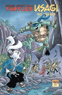 Teenage Mutant Ninja Turtles Usagi Yojimbo Expanded Ed