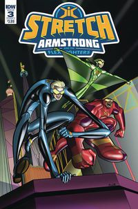 Stretch Armstrong & Flex Fighters #3 (of 3) (Cover A - Amancio)