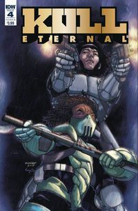 Kull Eternal #4 (Cover B - Sanchez)