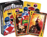 Mighty Morphin Power Rangers Playing Cards
