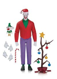 Batman Animated Series Christmas With The Joker Action Figure