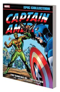 Captain America Epic Collection TPB Coming of Falcon