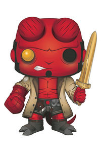 Pop Hellboy with Excalibur Previews Exclusive Vinyl Figure