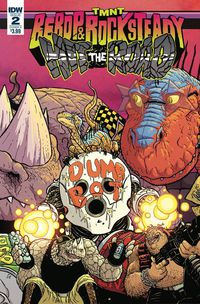 Teenage Mutant Ninja Turtles Bebop Rocksteady Hit the Road #2 (of 5) (Cover A - Pitarra)