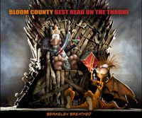 Bloom County Best Read Throne TPB
