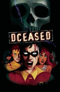 Dceased #4 (of 6) (Card Stock Horror Variant)