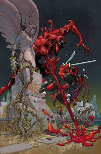 Absolute Carnage vs Deadpool #1 (of 3) (Ferry Virgin Variant)