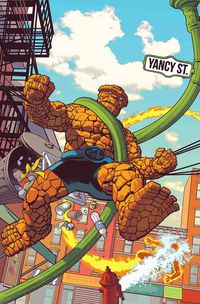 Fantastic Four 4 Yancy Street #1