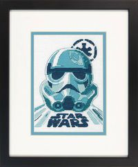 Star Wars Storm Trooper X-stitch Kit