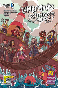 SDCC 2016 Exclusive Lumberjanes Gotham Academy #1 (Chen Variant)