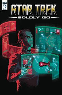 Star Trek Boldly Go #10 (Cover A - Caltsoudas)
