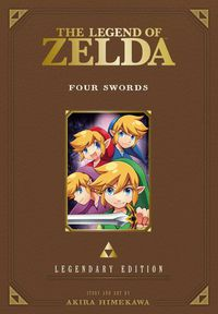 Legend of Zelda Legendary Edition GN Vol. 05 Four Swords