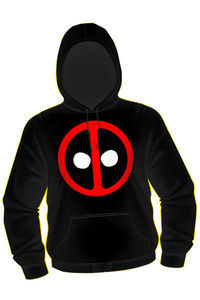 Deadpool Icon Blk Hoodie XL
