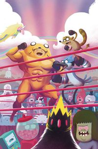 Adventure Time Regular Show #6 (Subscription Bayliss Variant)