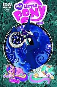 My Little Pony Micro Series #10 Luna