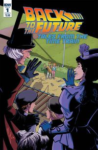 Back to the Future Time Train #1 (Cover A - Levens)