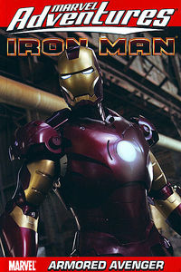Marvel Adventures Iron Man TPB Armored Avenger Digest - nick & dent