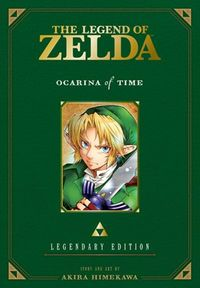 Legend of Zelda Legendary Ed GN Vol. 01 Ocarina Time