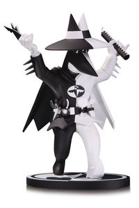 Batman Black & White Batman Spy Statue by Kuper