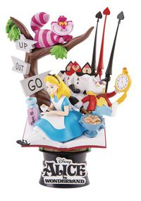 Alice in Wonderland Ds-010 Dream-Select Ser Previews Exclusive 6in Statue
