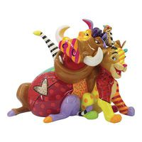 Disney Britto Lion King Group 5.8in Figurine