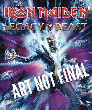 Iron Maiden Legacy of the Beast TPB