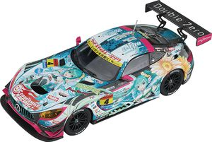 Hatsune Miku Gt Project 1/43 Mini Car Amg 2017 Champion Ver