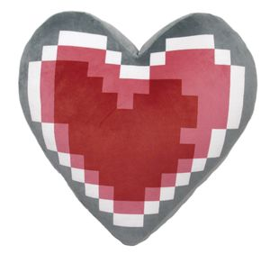Legend of Zelda Heart Container 13in Cushion