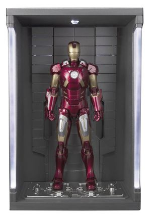 Marvel Iron Man Mk-7 Hall of Armor S.H.FIGUARTS Action Figure