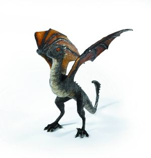 Game Of Thrones Drogon Baby Dragon Resin Statue