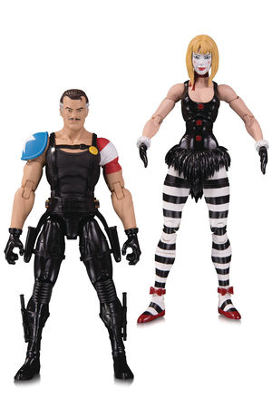 Doomsday Clock Comedian Marionette Action Figure 2 Pack