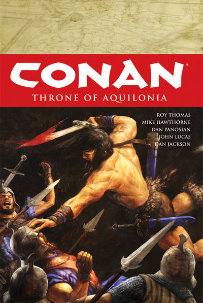 Conan Volume 12: Throne of Aquilonia HC - nick & dent