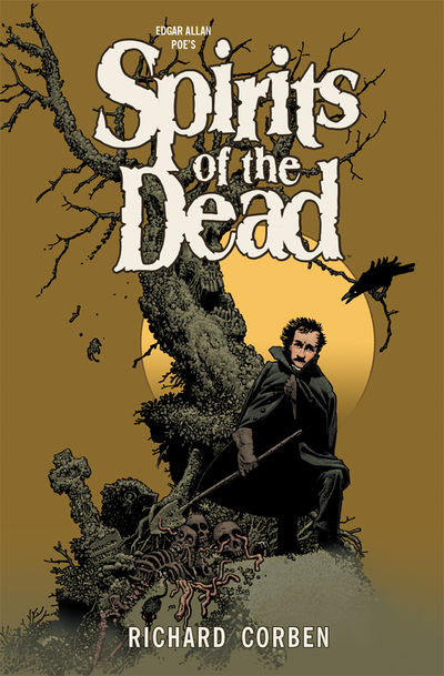 Edgar Allan Poe's Spirits of the Dead HC - nick & dent