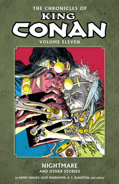 Chronicles of King Conan Volume 11: Nightmare and Other Stories TPB - nick & dent