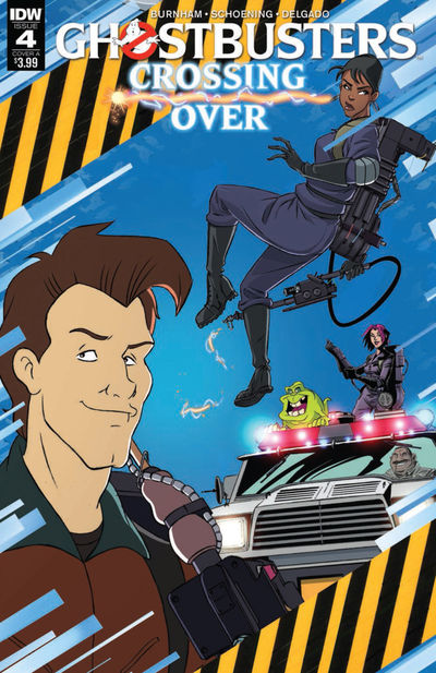 Ghostbusters Crossing Over #4 (Cover A - Schoening)